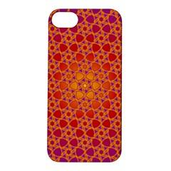Radial Flower Apple iPhone 5S Hardshell Case
