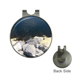 Atlantic Ocean Hat Clip With Golf Ball Marker