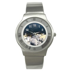 Atlantic Ocean Stainless Steel Watch (slim)