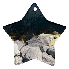 Atlantic Ocean Star Ornament (two Sides)