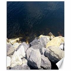 Atlantic Ocean Canvas 8  x 10  (Unframed)