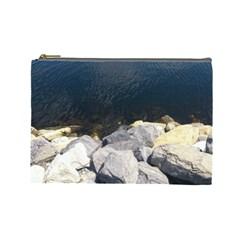 Atlantic Ocean Cosmetic Bag (large)