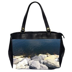 Atlantic Ocean Oversize Office Handbag (Two Sides)