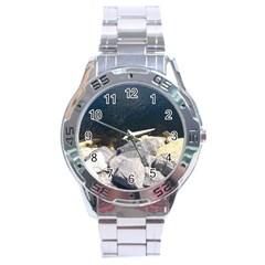 Atlantic Ocean Stainless Steel Watch