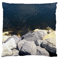 Atlantic Ocean Large Cushion Case (two Sided)