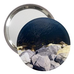 Atlantic Ocean 3  Handbag Mirror