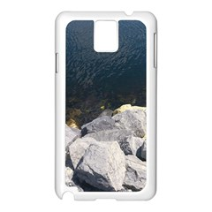 Atlantic Ocean Samsung Galaxy Note 3 N9005 Case (white)