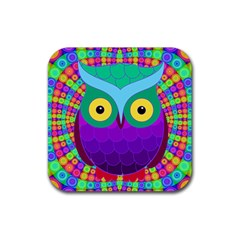 Groovy Owl Drink Coasters 4 Pack (Square)