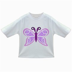 Whimsical Awareness Butterfly Baby T-shirt