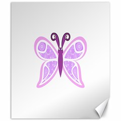 Whimsical Awareness Butterfly Canvas 20  x 24  (Unframed)