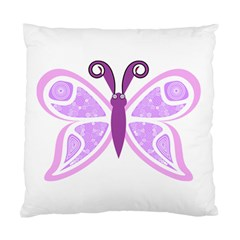 Whimsical Awareness Butterfly Cushion Case (Single Sided)