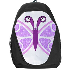 Whimsical Awareness Butterfly Backpack Bag