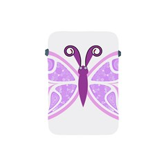 Whimsical Awareness Butterfly Apple iPad Mini Protective Sleeve