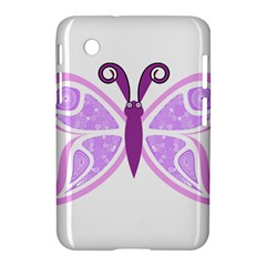 Whimsical Awareness Butterfly Samsung Galaxy Tab 2 (7 ) P3100 Hardshell Case