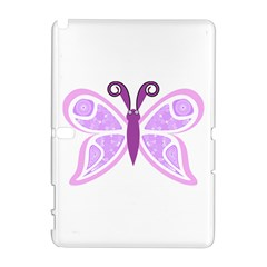 Whimsical Awareness Butterfly Samsung Galaxy Note 10.1 (P600) Hardshell Case