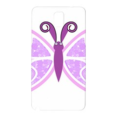 Whimsical Awareness Butterfly Samsung Galaxy Note 3 N9005 Hardshell Back Case