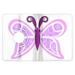 Whimsical Awareness Butterfly Kindle Fire HDX 7  Flip 360 Case