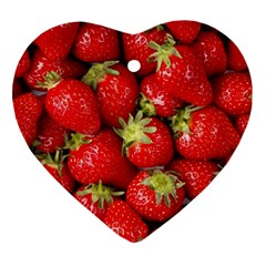 Strawberries Heart Ornament