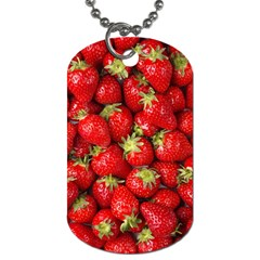 Strawberries Dog Tag (one Sided)