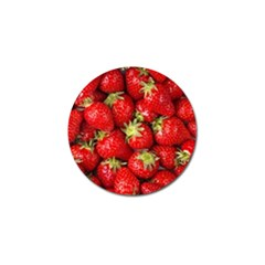 Strawberries Golf Ball Marker 10 Pack