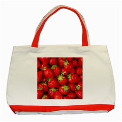 Strawberries Classic Tote Bag (Red)