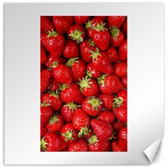 Strawberries Canvas 16  x 16  (Unframed)