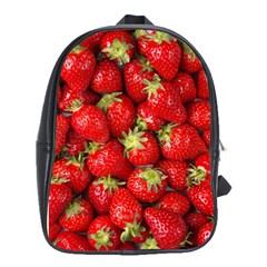 Strawberries School Bag (Large)