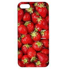 Strawberries Apple Iphone 5 Hardshell Case With Stand