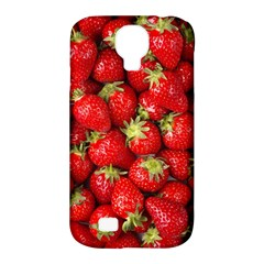 Strawberries Samsung Galaxy S4 Classic Hardshell Case (pc+silicone)