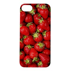Strawberries Apple iPhone 5S Hardshell Case