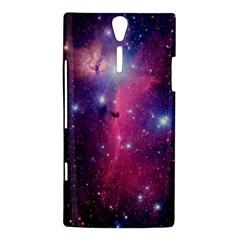 Galaxy Purple Sony Xperia S Hardshell Case