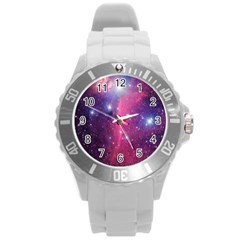 Galaxy Purple Plastic Sport Watch (Large)