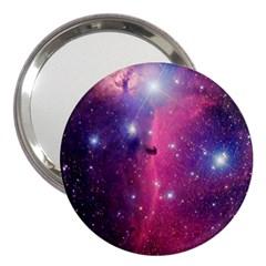 Galaxy Purple 3  Handbag Mirror