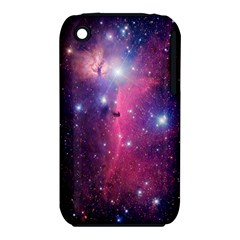 Galaxy Purple Apple iPhone 3G/3GS Hardshell Case (PC+Silicone)