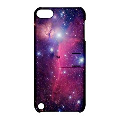 Galaxy Purple Apple iPod Touch 5 Hardshell Case with Stand
