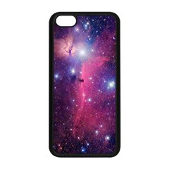 Galaxy Purple Apple iPhone 5C Seamless Case (Black)