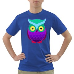 Groovy Owl Men s T-shirt (Colored)