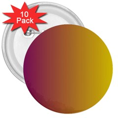 Tainted  3  Button (10 Pack)