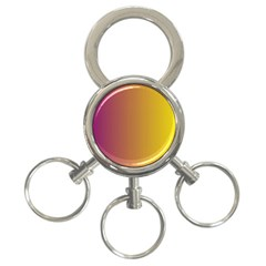 Tainted  3-Ring Key Chain