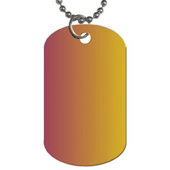 Tainted  Dog Tag (one Sided)