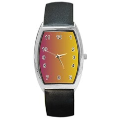 Tainted  Tonneau Leather Watch