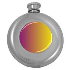 Tainted  Hip Flask (Round)