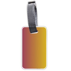 Tainted  Luggage Tag (two Sides)