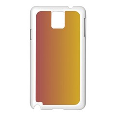 Tainted  Samsung Galaxy Note 3 N9005 Case (white)