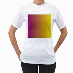 Tainted  Women s T Shirt (white)
