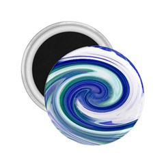 Abstract Waves 2.25  Button Magnet