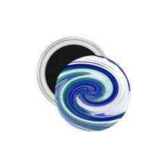 Abstract Waves 1.75  Button Magnet