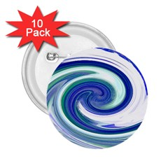 Abstract Waves 2.25  Button (10 pack)