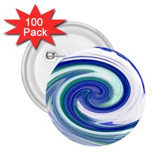 Abstract Waves 2.25  Button (100 pack)