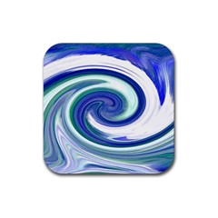 Abstract Waves Drink Coasters 4 Pack (square)